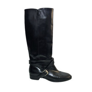 MARC BY MARC JACOBS Glossy Leather Riding Boots